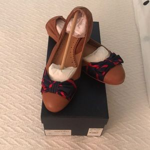 BRAND NEW NEVER WORN Brooks Brothers Bow Flats!